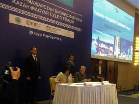 Együttműködési megállapodás a Kazahsztáni Víziközmű Szövetség és a Magyar Víziközmű Szövetség között