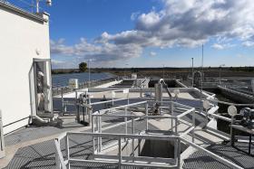Nívós vízügyi építészeti elismerés a Siófoki Szennyvíztisztító Telepnek